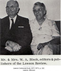 Mr. & Mrs. W. A. Black