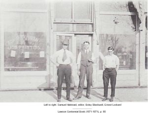 Samuel Halstead, Boley Blackwell, Ernest Lockard