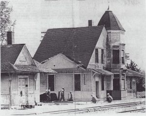 Lawson Depot was moved to Excelsior Springs